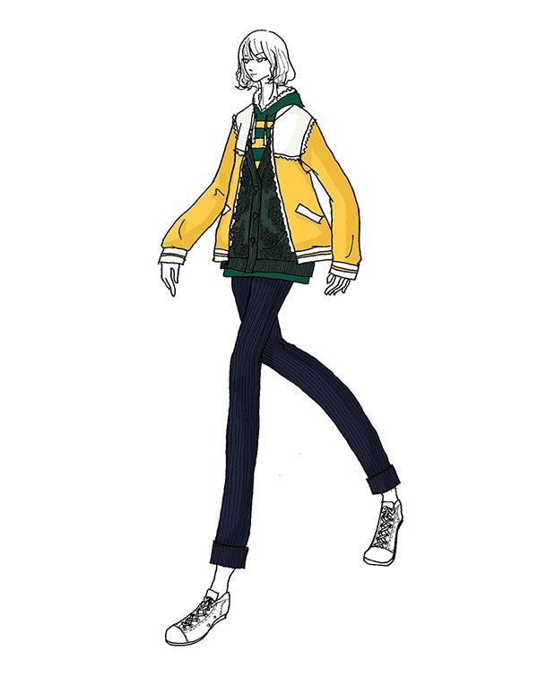 Famar Abbigliamento Ferrara Sketch 3