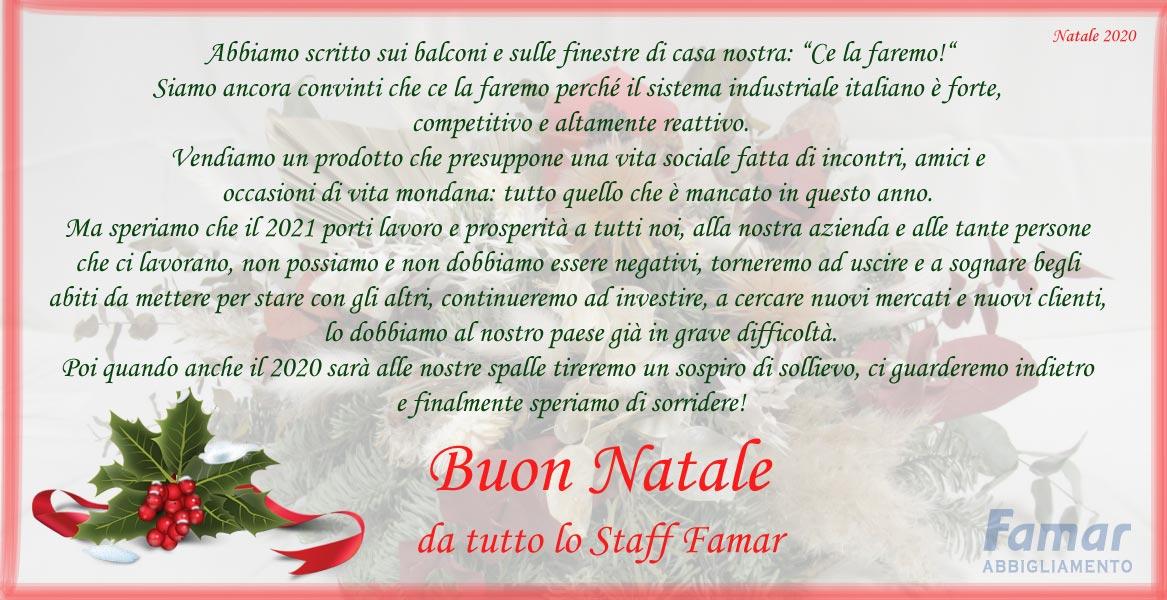 Famar abbigliamento Ferrara - Natale 2020
